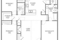 Lovely Decorative Plan For A House Of 3 Bedroom 19 Bedroomed Designs Plans in House Design Plans