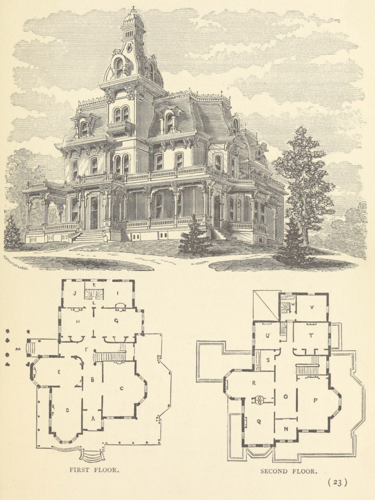 Lovely Design For A Large Residence | Fancy Houses | Pinterest | Victorian within Addams Family Mansion Floor Plan