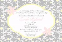 Lovely Designs : Exquisite Baby Shower Invite Wording For Facebook With pertaining to How Do You Say Baby Shower In Spanish