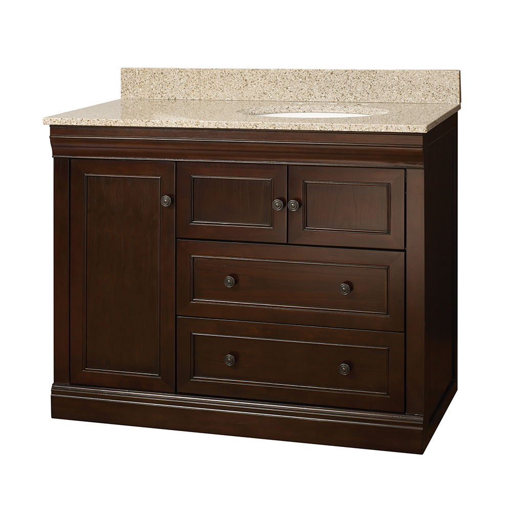 Lovely Discontinued-Today's Bath Jamesport Bathroom Vanity Combo | Foremost inside Beautiful 42 Inch Bathroom Vanity Combo