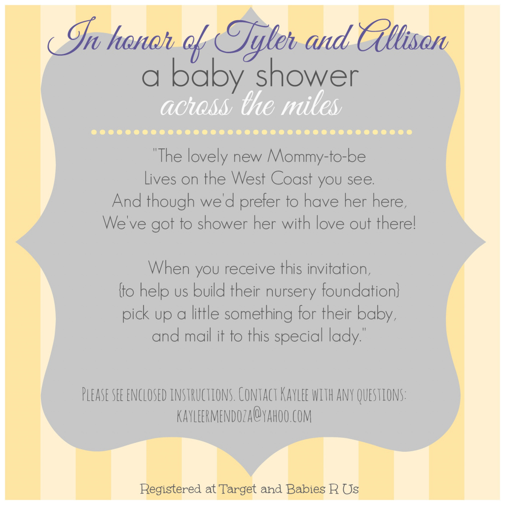 Lovely Flossy Long Distance Baby Shower Invitations Your Baby Shower regarding When To Have Your Baby Shower