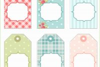 Lovely Free Printable Baby Shower Favor Tags Template Awesome 15 Best pertaining to Free Printable Baby Shower Favor Tags Template