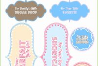 Lovely Free Printable Baby Shower Gift Tags Beautiful Free Baby Shower in Free Printable Baby Shower Favor Tags Template