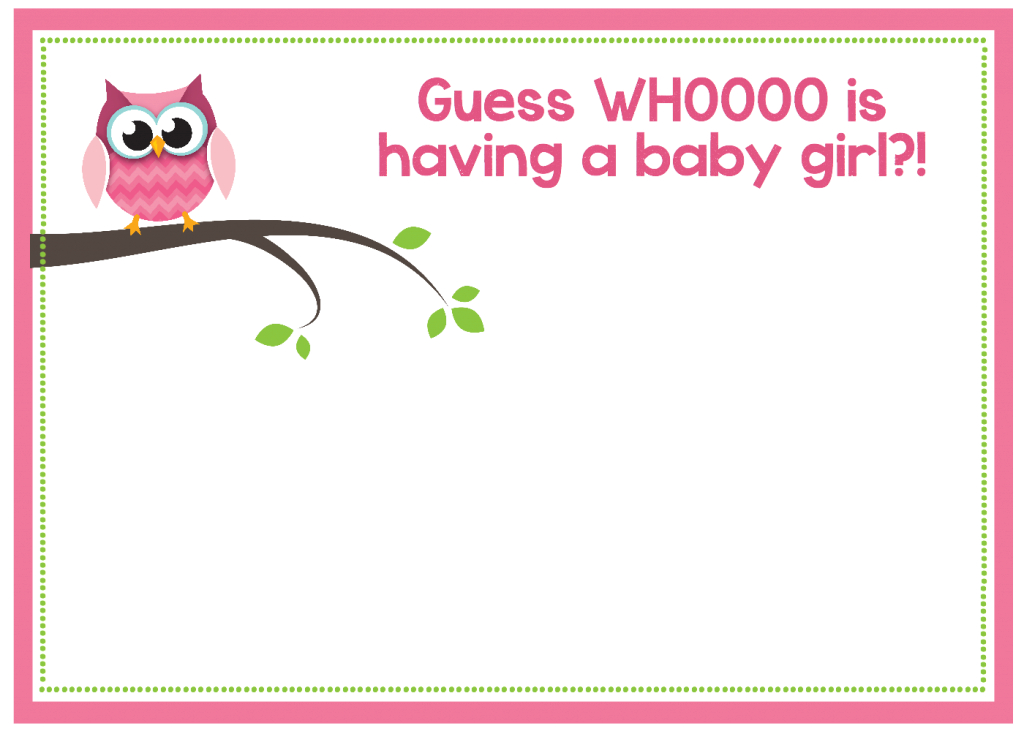 Lovely Free Printable Owl Baby Shower Invitations {& Other Printables} throughout Awesome Baby Shower Templates Free