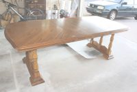 Lovely Furniture: How To Refinish A Dining Room Table With Gloss Brown intended for High Quality How To Refinish A Dining Room Table