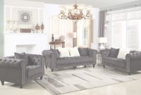 Lovely Furniture Import And Export Inc: 1707, Wakefield Upholstered Tufted pertaining to Awesome Grey Living Room Sets