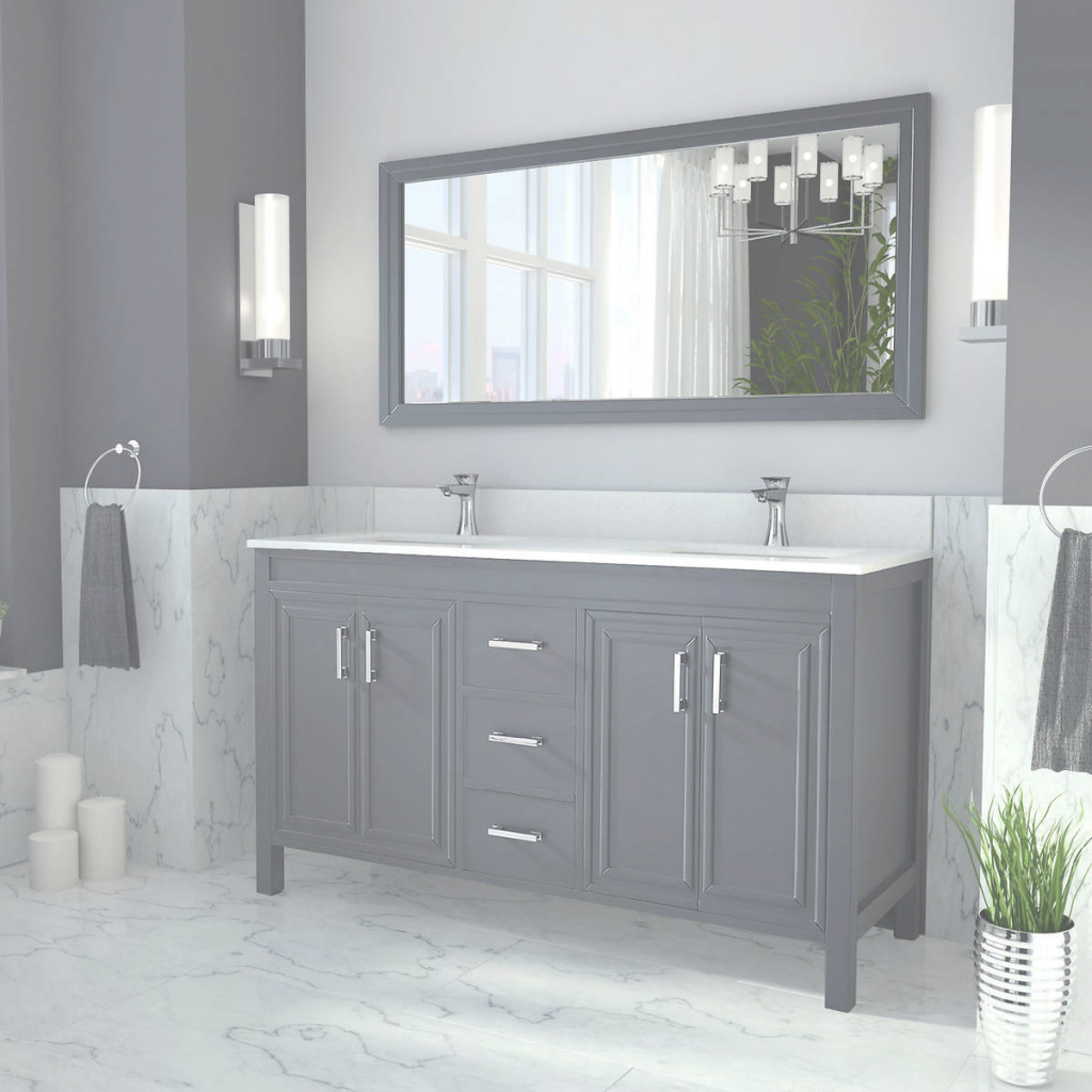 Lovely Good 60 Bathroom Vanity Double Sink 13 Modern Sofa Inspiration With with New Two Sink Bathroom Vanity