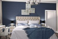 Lovely Gray And Light Blue Bedroom – Bedroom throughout Bedroom Gray