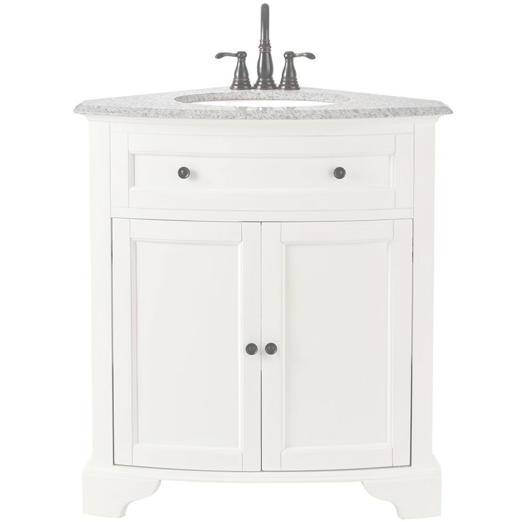 Lovely Gray - Double Sink - Bathroom Vanities - Bath - The Home Depot within Bathroom Vanities At Home Depot