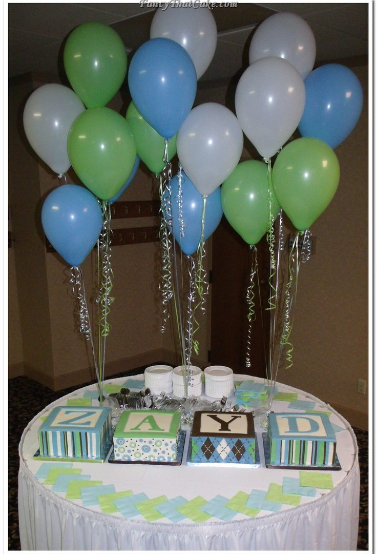 Lovely Green And Blue Baby Shower Ideas Brown Boy Yellow Royal Lime Awesome pertaining to Blue And Green Baby Shower
