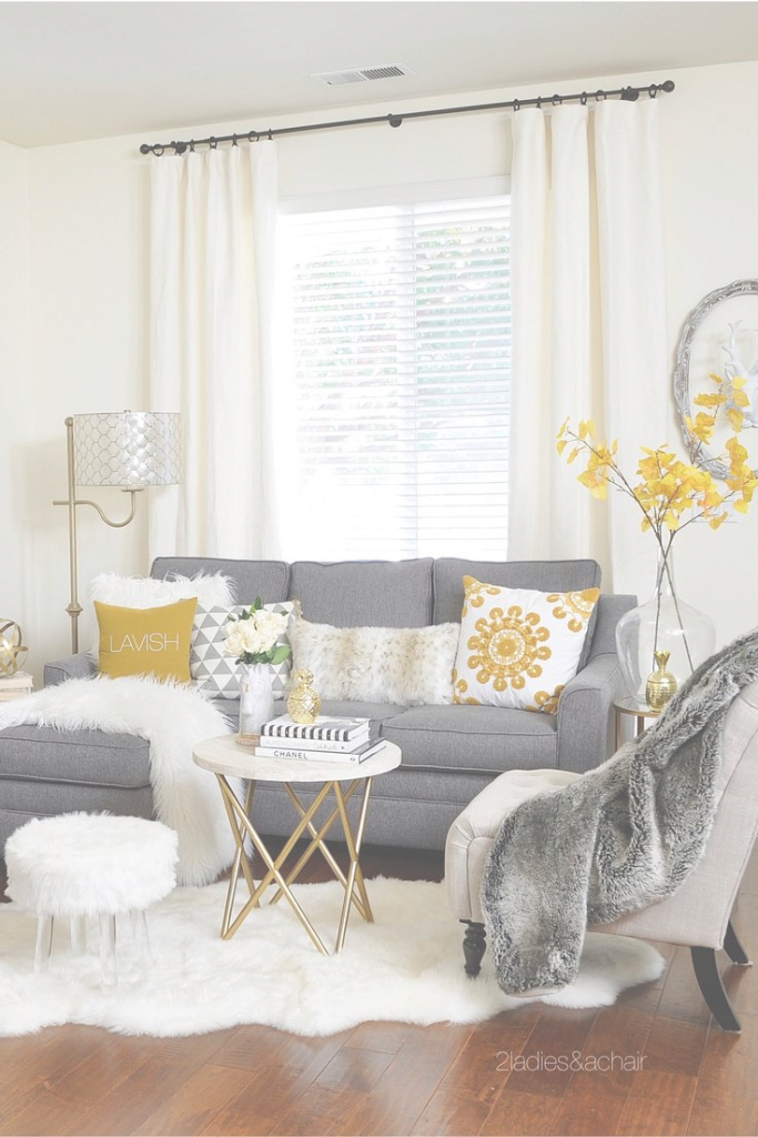 Lovely Grey And Mustard Living Room Wallpaper What Colors Can I Wear With throughout Elegant Yellow And Gray Living Room
