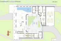 Lovely Hacienda House Plans Center Courtyard Projects Idea Small Homes With within Hacienda House Plans Center Courtyard Image
