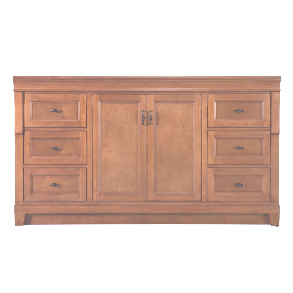 Lovely Home Decorators Collection Naples 60 In. W Bath Vanity Cabinet Only regarding Elegant Bathroom Vanity 60 Single Sink