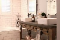 Lovely Home Design : Bathroom Vanity Farmhouse Style Together Awesome inside Farmhouse Style Bathroom Vanity