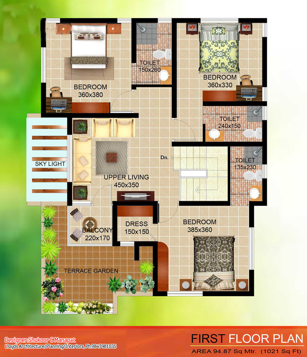 Lovely Home Plans In Kerala Below 5 Lakhs Room 4 Bedroom House Floor Plan L in Kerala House Design With Floor Plans