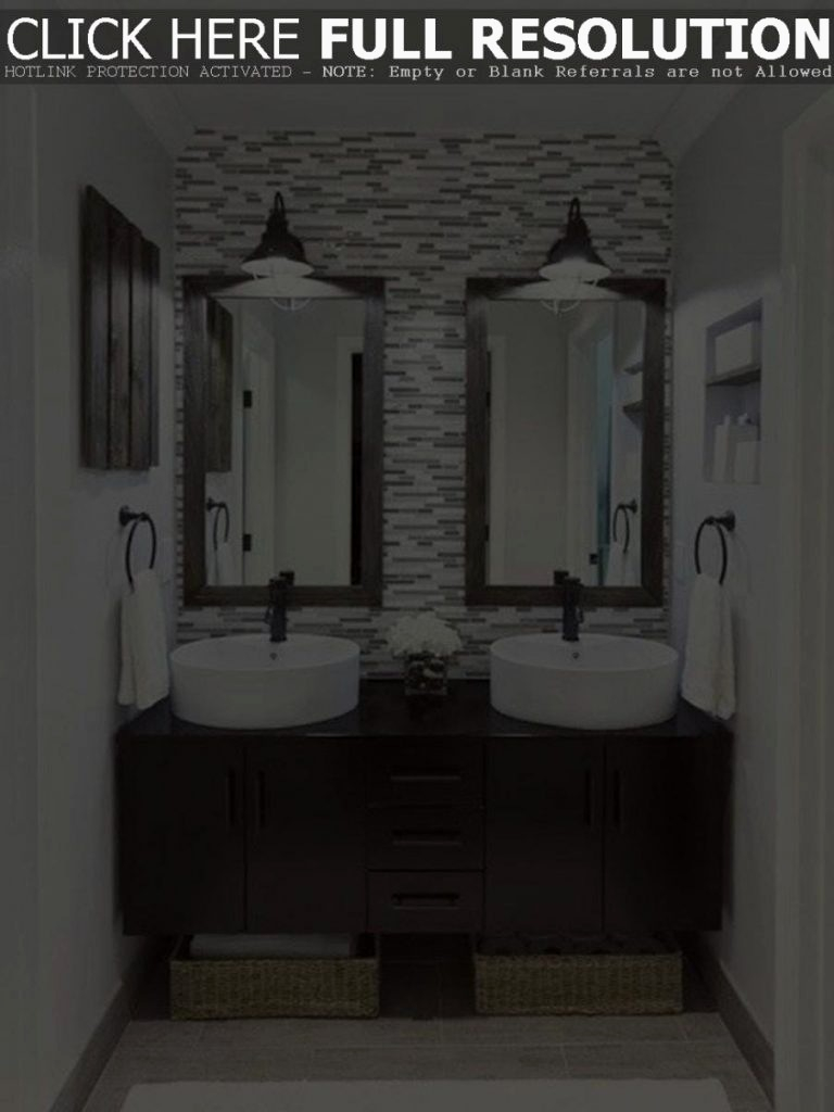 Lovely Houzz Bathroom Mirrors Unique Double Framed Bathroom Mirrors With inside Beautiful Houzz Bathroom Mirrors