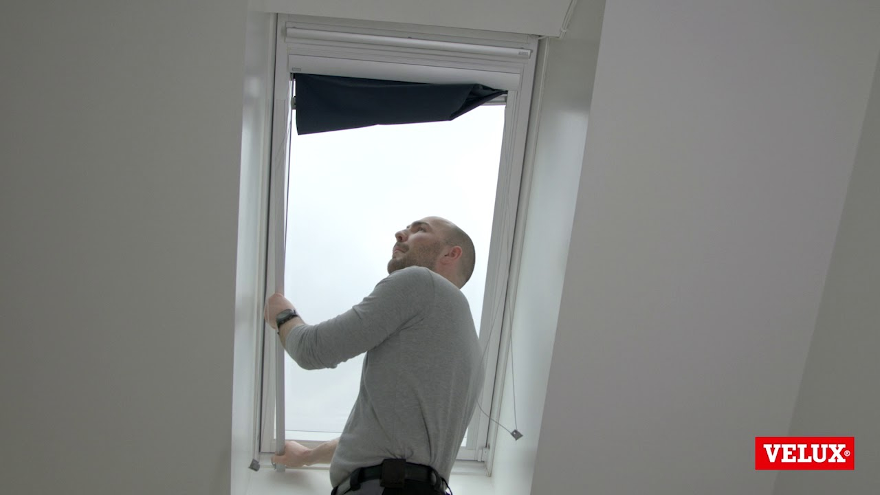 Lovely How To Dismount A Velux Blind - Youtube with How To Remove Blinds From Window