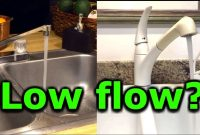 Lovely How To Fix Low Water Pressure In Kitchen Or Bathroom Faucet Sink Low for Low Water Pressure In Kitchen Sink Only