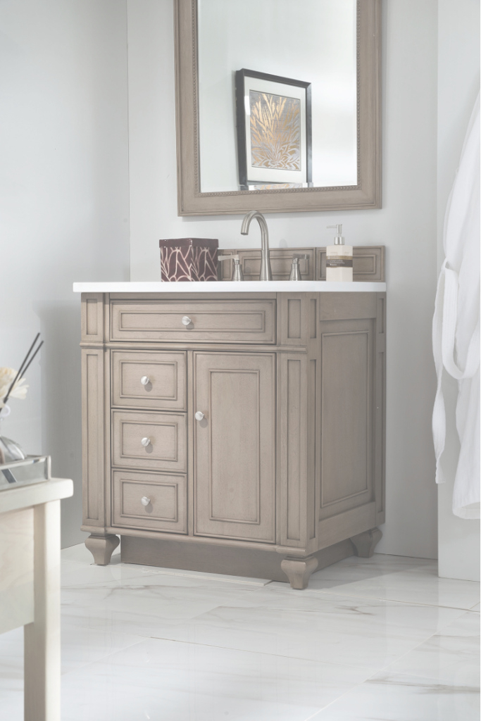 Lovely How To Maximize Your Small Bathroom Vanity - Overstock pertaining to Vanity For Small Bathroom