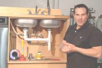 Lovely How To Repair A Leak Under The Sink : Home Sweet Home Repair – Youtube with regard to How To Fix A Kitchen Sink