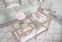 Lovely Ikea Hack: A Gold & Marble Coffee Table | Georgi A | //beautifully within Set Ikea Coffee Table Hack