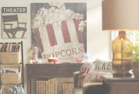 Lovely Incorporate Vintage Flair And Movie Themes Into Your Media Room With in Movie Themed Decor