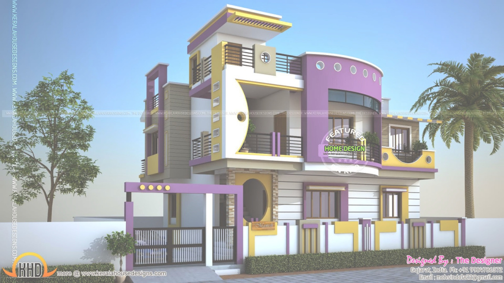 Lovely Indian Home Exterior Design Photos Style | Welcome To My Site for Indian Home Exterior Design Photos Middle Class