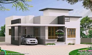 Lovely Indian Simple House Designs Single Floor - Youtube inside Simple Indian House Design Pictures