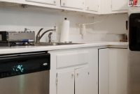 Lovely Inexpensive Rental Kitchen Makeover – Thou Swell pertaining to Rental Kitchen Makeover