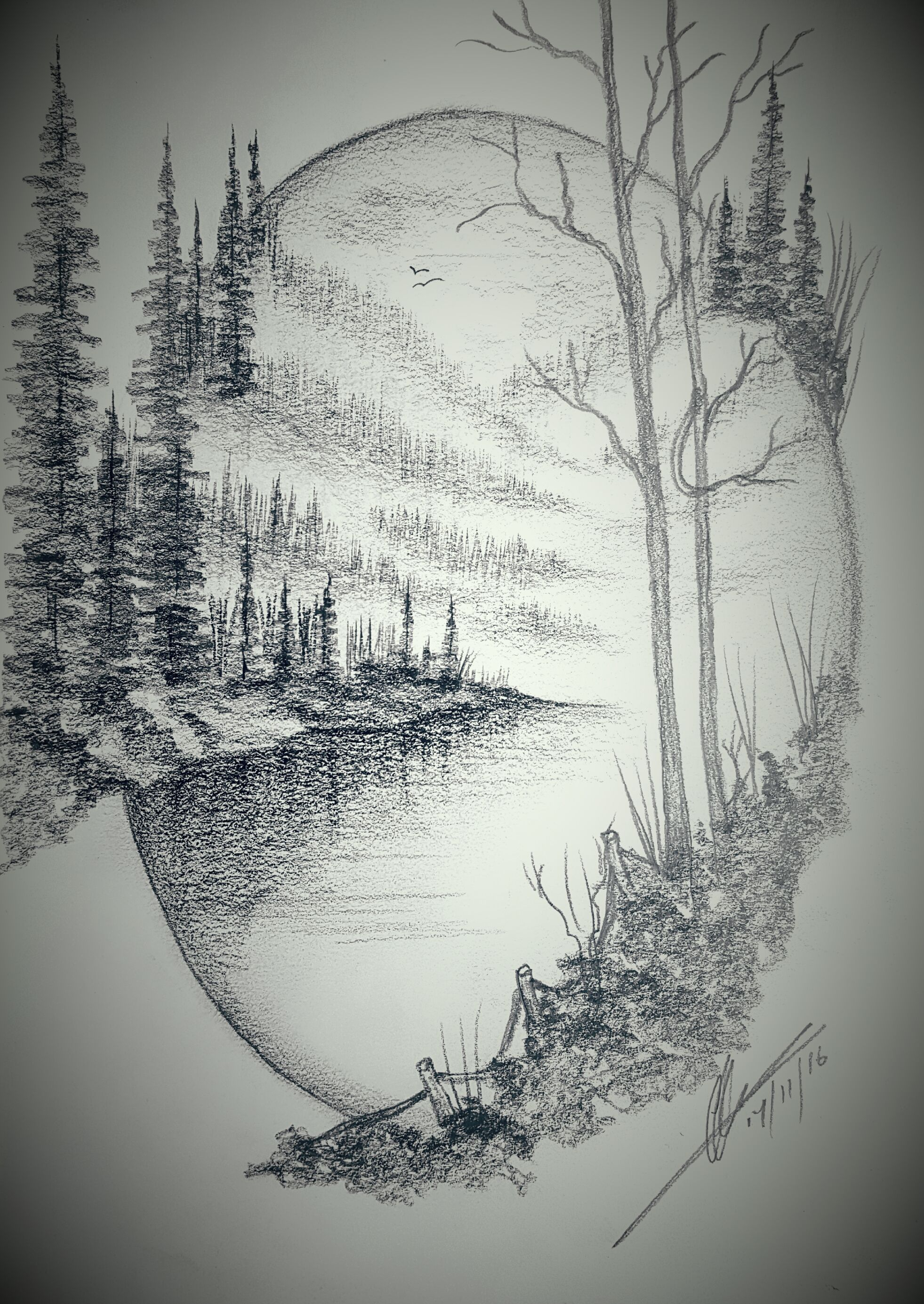 Lovely Landscape Drawing Ideas Billedresultat For Landscape Drawing | Quilt regarding High Quality Landscape Drawing Ideas
