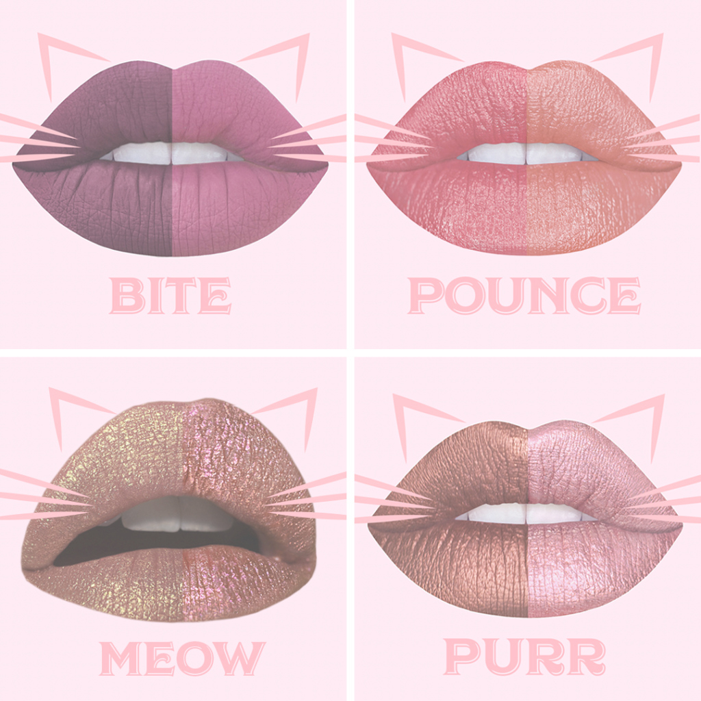 Lovely Lime Crime Kitty Bundles Cosmetics Launches Lipsticks That Give Back throughout Good quality Kitty Bungalow