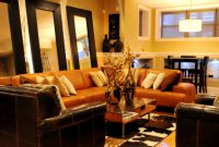 Lovely Living Room Decorating Ideas Brown And Orange Online Of Living Room throughout Luxury Burnt Orange Living Room