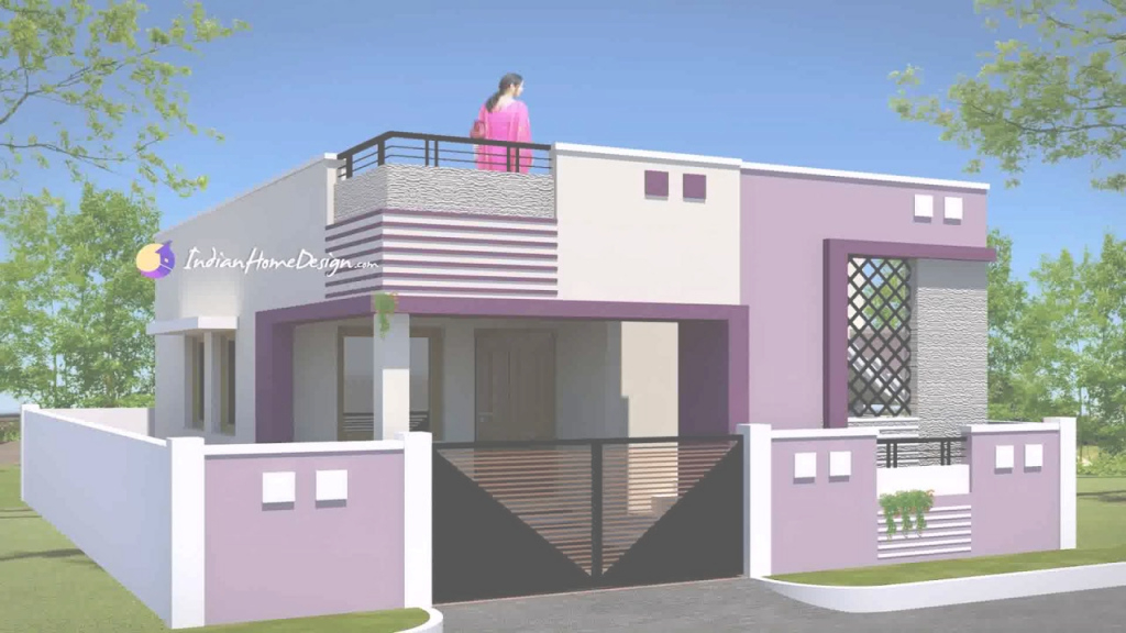 Lovely Low Cost House Plans With Photos India - Youtube pertaining to Unique Village House Plans With Photos