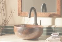 Lovely Maestro Petit Copper Bathroom Vessel Sink | Native Trails throughout New Bathroom Vessel Sinks