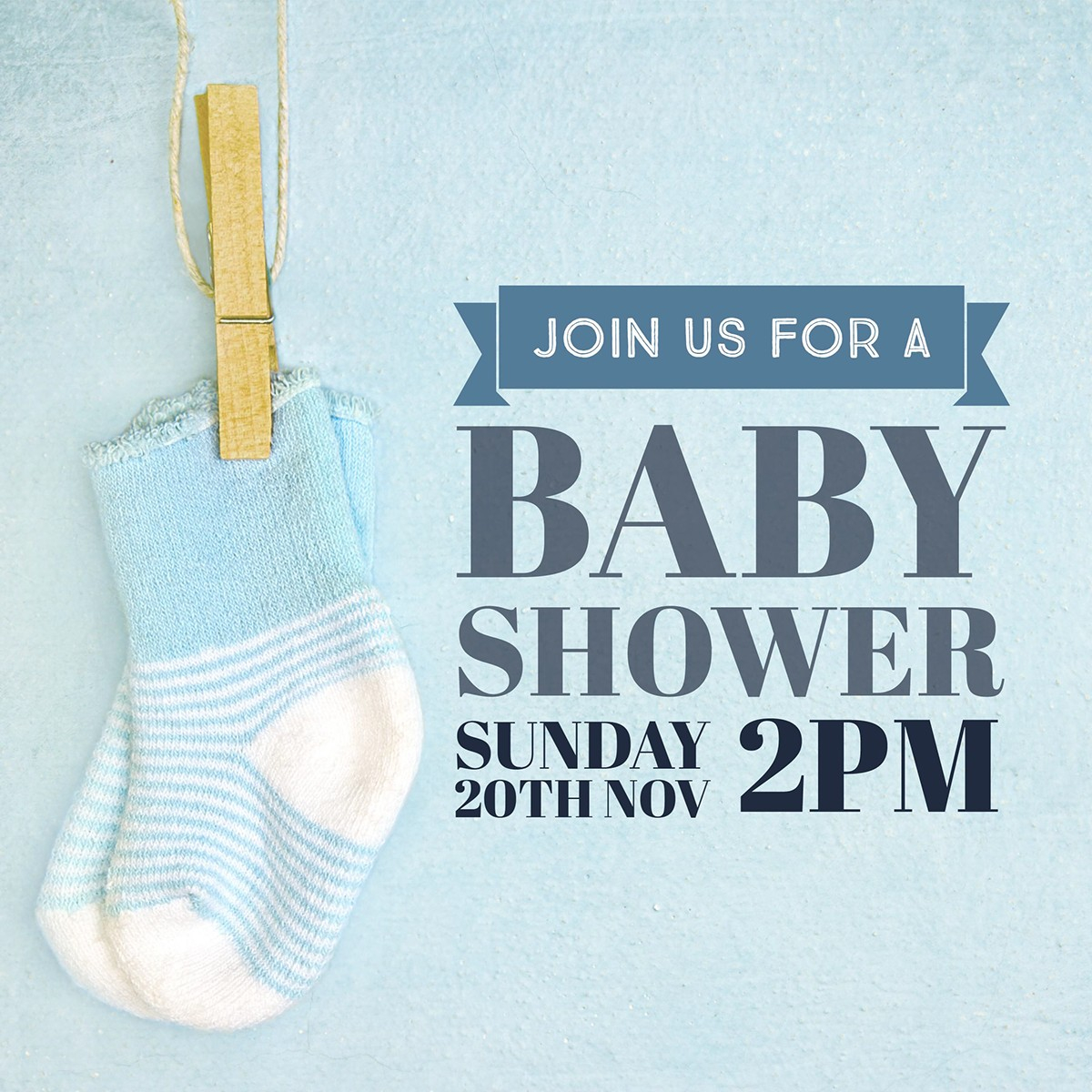 Lovely Make Your Own Baby Shower Invitations For Free | Adobe Spark regarding Lovely Free Baby Shower Invitations