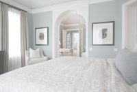 Lovely Master Bedroom + Bedroom Suite + Coastal Blue Bedroom + Blue with Fresh Yarmouth Blue Bathroom