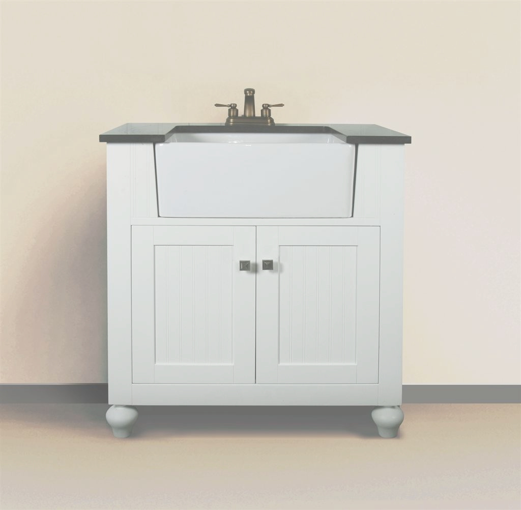 Lovely Melendy (Single) 30-Inch Modern Bathroom Vanity - Matte White regarding 30 White Bathroom Vanity