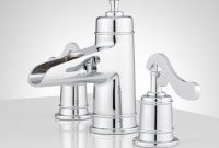 Lovely Melton Widespread Waterfall Bathroom Faucet – Bathroom inside Waterfall Faucet Bathroom