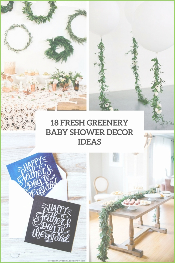 Lovely Modern Baby Shower Themes Marvelous 18 Fresh Greenery Baby Shower for Good quality Modern Baby Shower Themes
