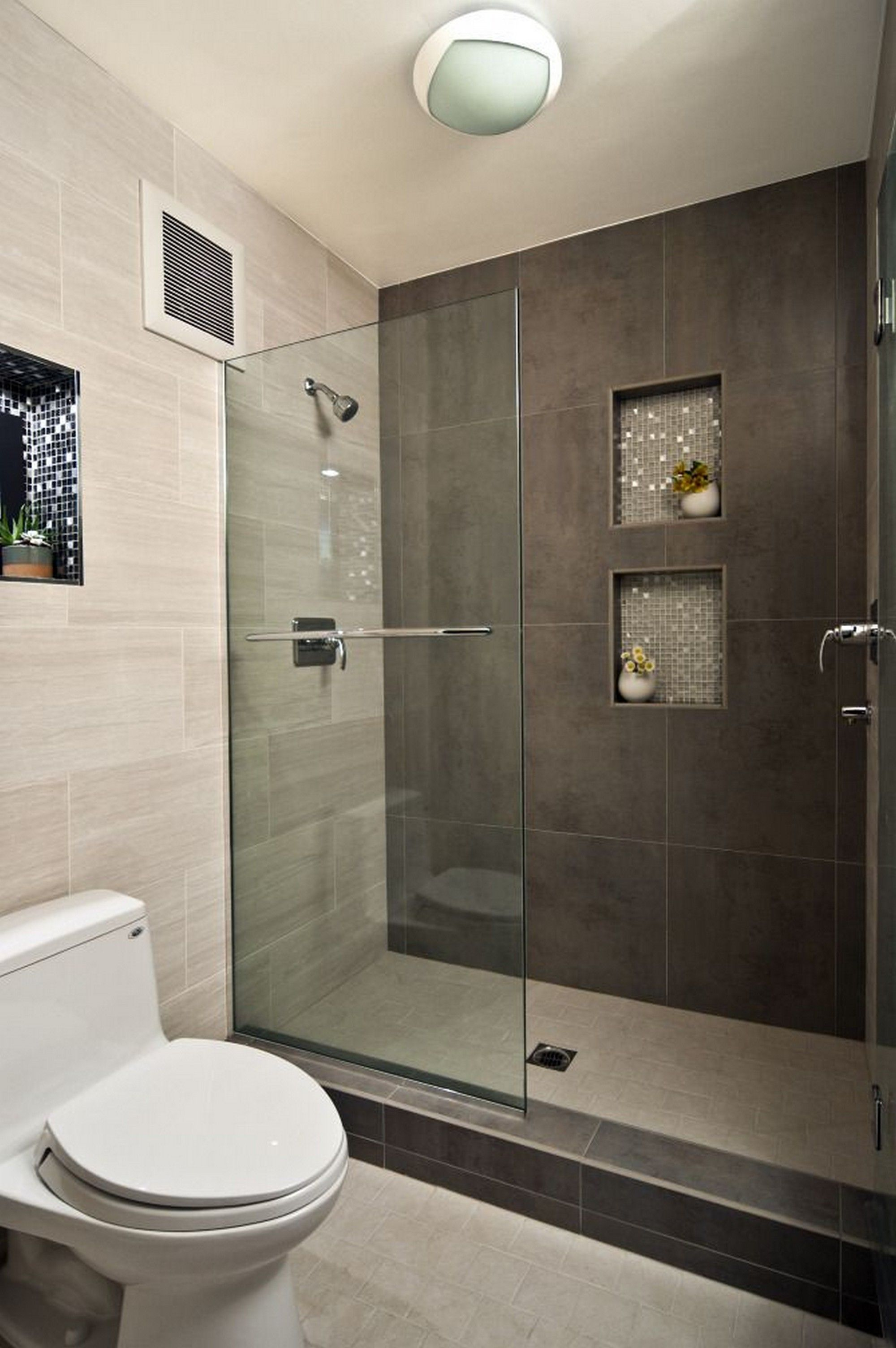 Lovely Modern Bathroom Design Ideas With Walk In Shower | Pinterest | Small within Elegant Ideas For Small Bathroom Remodel