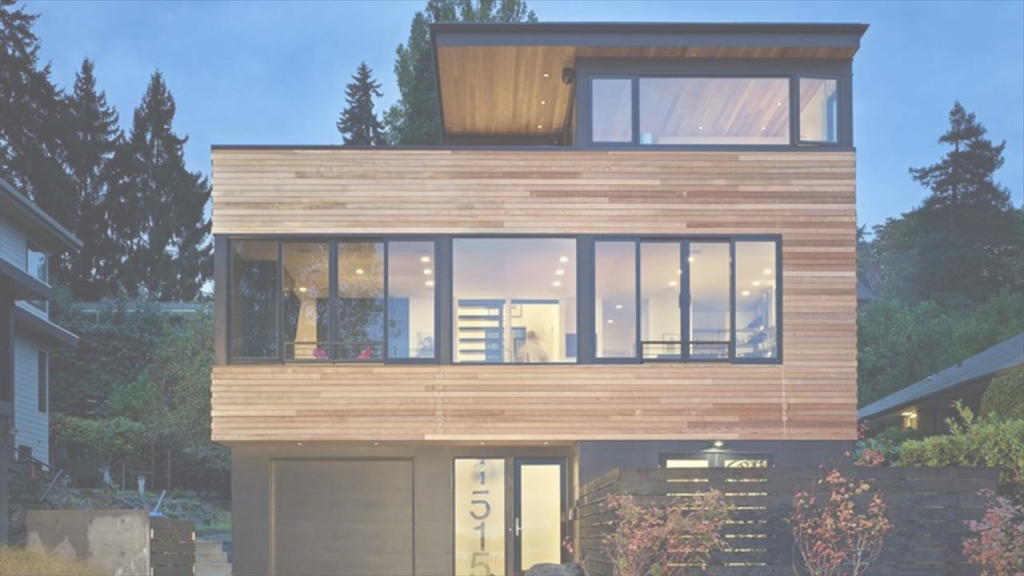 Lovely Modern Wood House - Youtube throughout Elegant Wood House Design Plans
