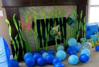 Lovely Ocean Birthday Party | Pinterest | Shark Party, Ocean Themes And Shark inside Beach Theme Party Decorations
