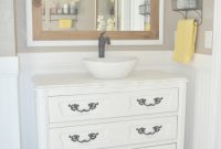 Lovely Old Dresser Turned Bathroom Vanity Tutorial within Fresh Dresser Bathroom Vanity