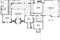 Lovely One Story House Plans With Center Courtyard Beautiful Courtyard Home with Review Hacienda House Plans Center Courtyard Image