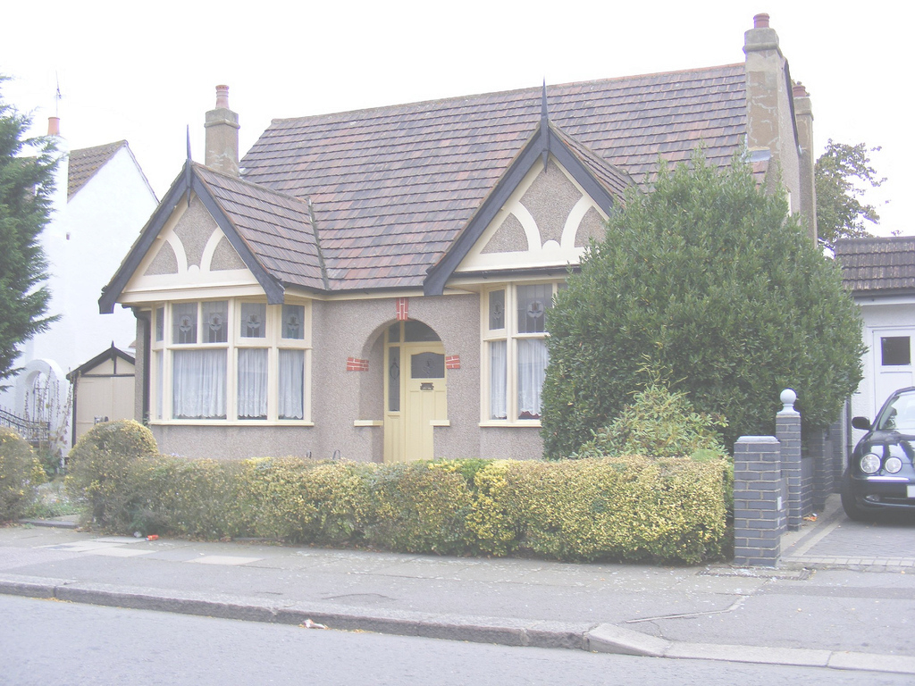 Lovely Original Bungalow, Seven Kings | The Original Garage To The … | Flickr within Bungalow Seven