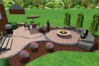 Lovely Picture 5 Of 44 – Backyard Landscaping Ideas With Fire Pit Best Of throughout Backyard Landscaping Ideas With Fire Pit