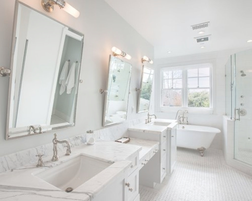 Lovely Pivot Mirrors For Bathroom Attractive Mirror Houzz Regarding 34 with Pivot Mirror Bathroom