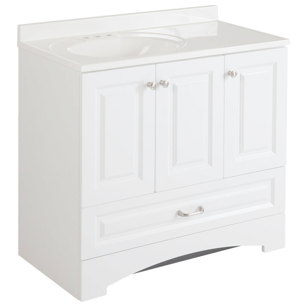 Lovely Pretty Home Depot 36 Inch Vanity 14 | Languedocland inside White Bathroom Vanity Home Depot
