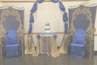 Lovely Prince Themed Baby Shower Ideas Fine Royal Blue And Gold Little within Lovely Prince Themed Baby Shower Decorations