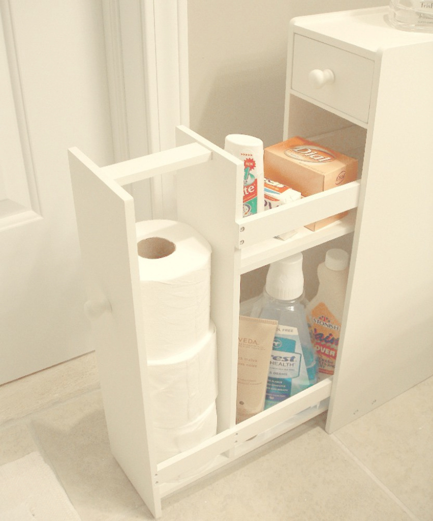 Lovely Proman Products Bathroom Floor Cabinet In White - Beyond Stores pertaining to Best of Bathroom Floor Cabinet White